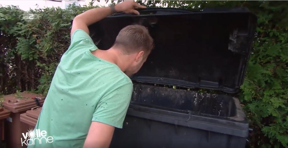 ZDF | Besserwisser | Mülltonnen