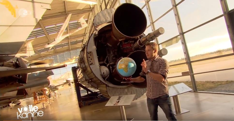 ZDF | Besserwisser | Florian Weiss und die Raketen