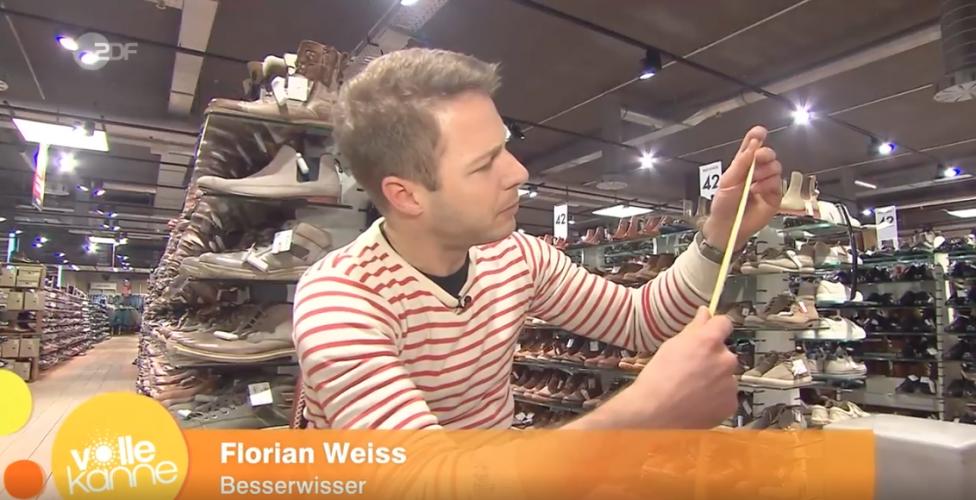 ZDF | Besserwisser | Der Besserwisser und die Schuhgrößen