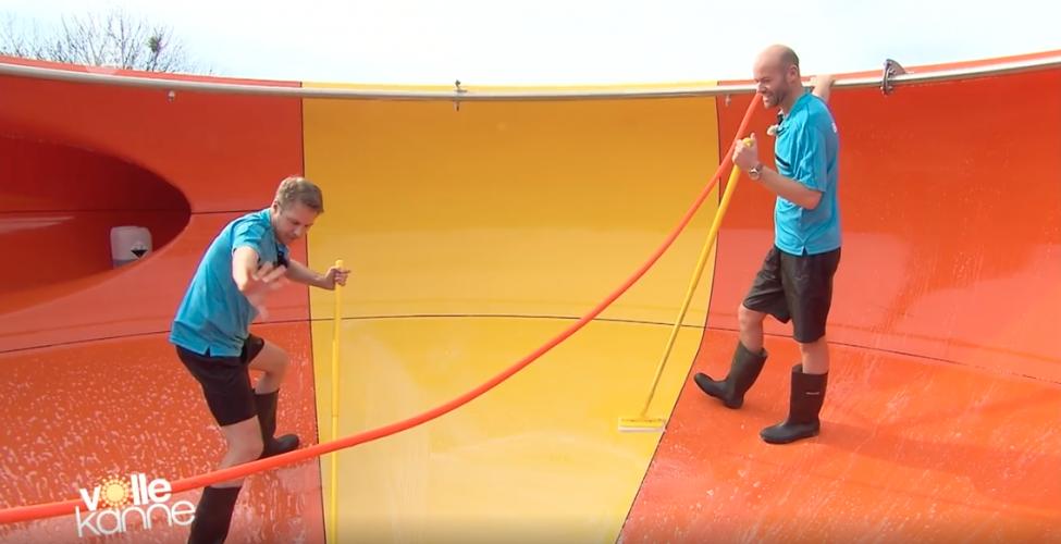 ZDF | Reportage | Flo im Wasserrutschenpark