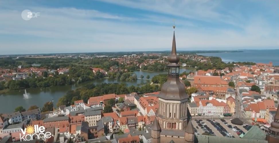 ZDF | Fernsehgarten | Florian Weiss erkundet Stralsund
