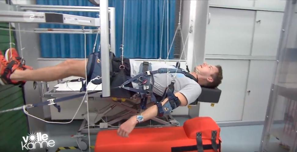 ZDF | Reportage | Flo beim Raumfahrttraining