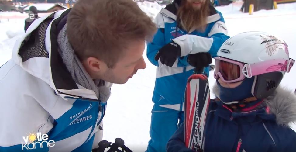 ZDF   Reportage   Flo als Skilehrer
