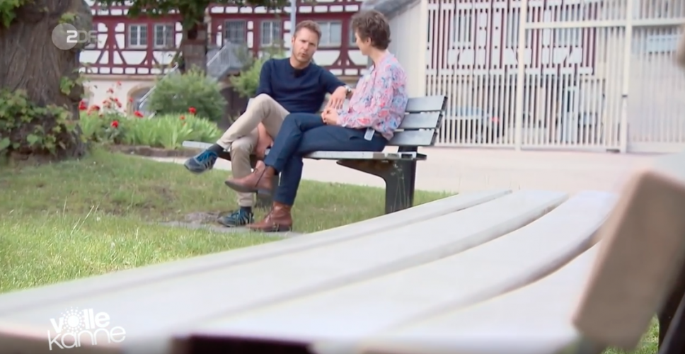ZDF | Reportage| Florian Weiss bei der Gefängnisseelsorge