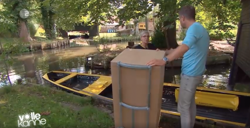 ZDF | Reportage | Flo als Wasserpostbote