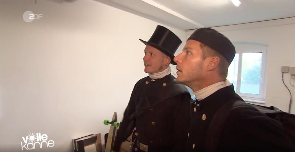 ZDF | Reportage | Flo als Schornsteinfeger