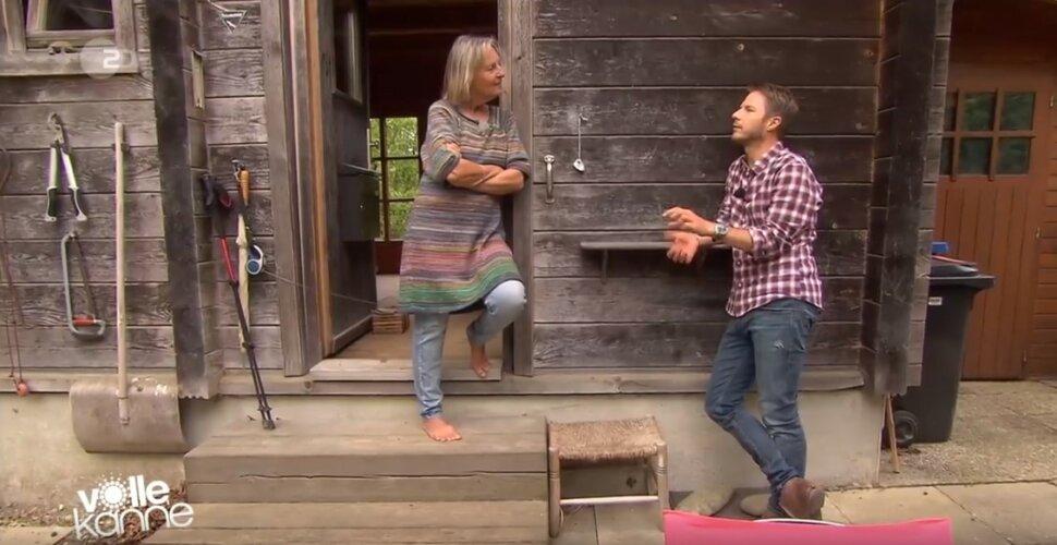 ZDF | Reportage | Leben in einer Blockhütte